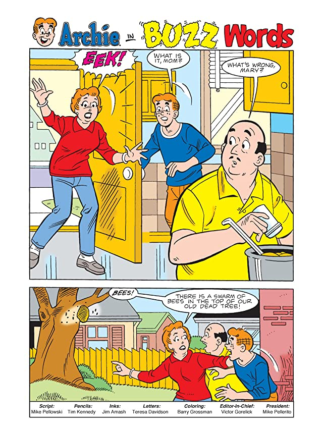 click for super-sized previews of Archie Double Digest #230