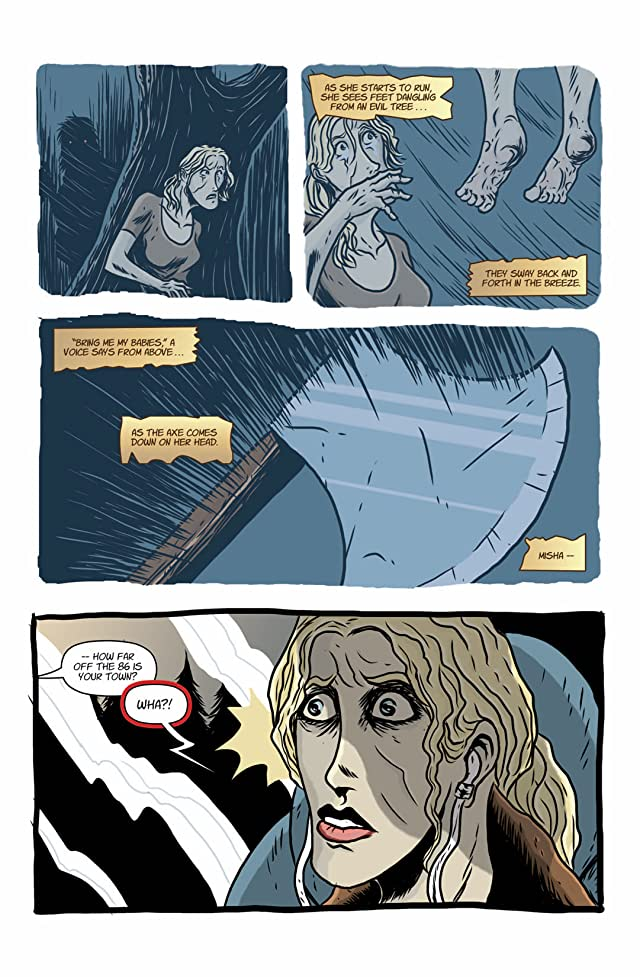 click for super-sized previews of The Evil Tree #1