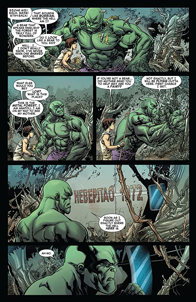 click for super-sized previews of Incredible Hulk (2011-2012) #10