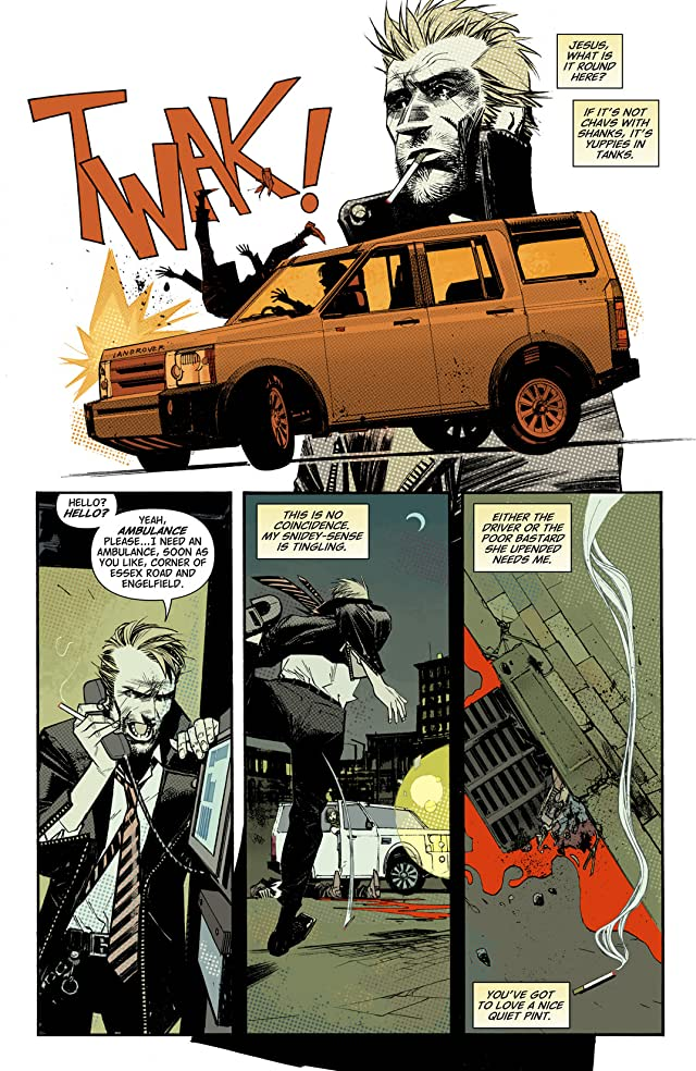 click for super-sized previews of John Constantine: Hellblazer - City of Demons #1 (of 5)