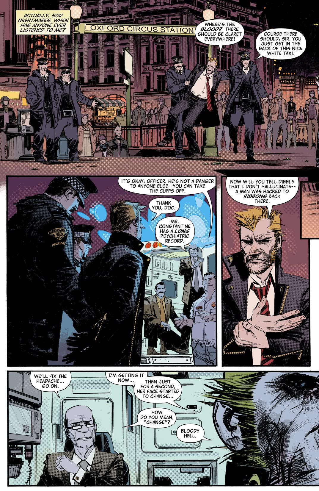 John Constantine: Hellblazer - City of Demons #3 (of 5)