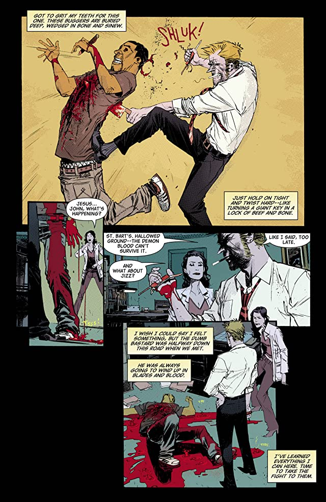 click for super-sized previews of John Constantine: Hellblazer - City of Demons #4