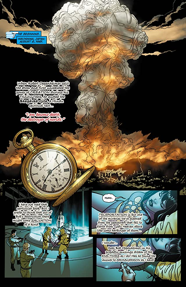 click for super-sized previews of Number of the Beast (2008) #8