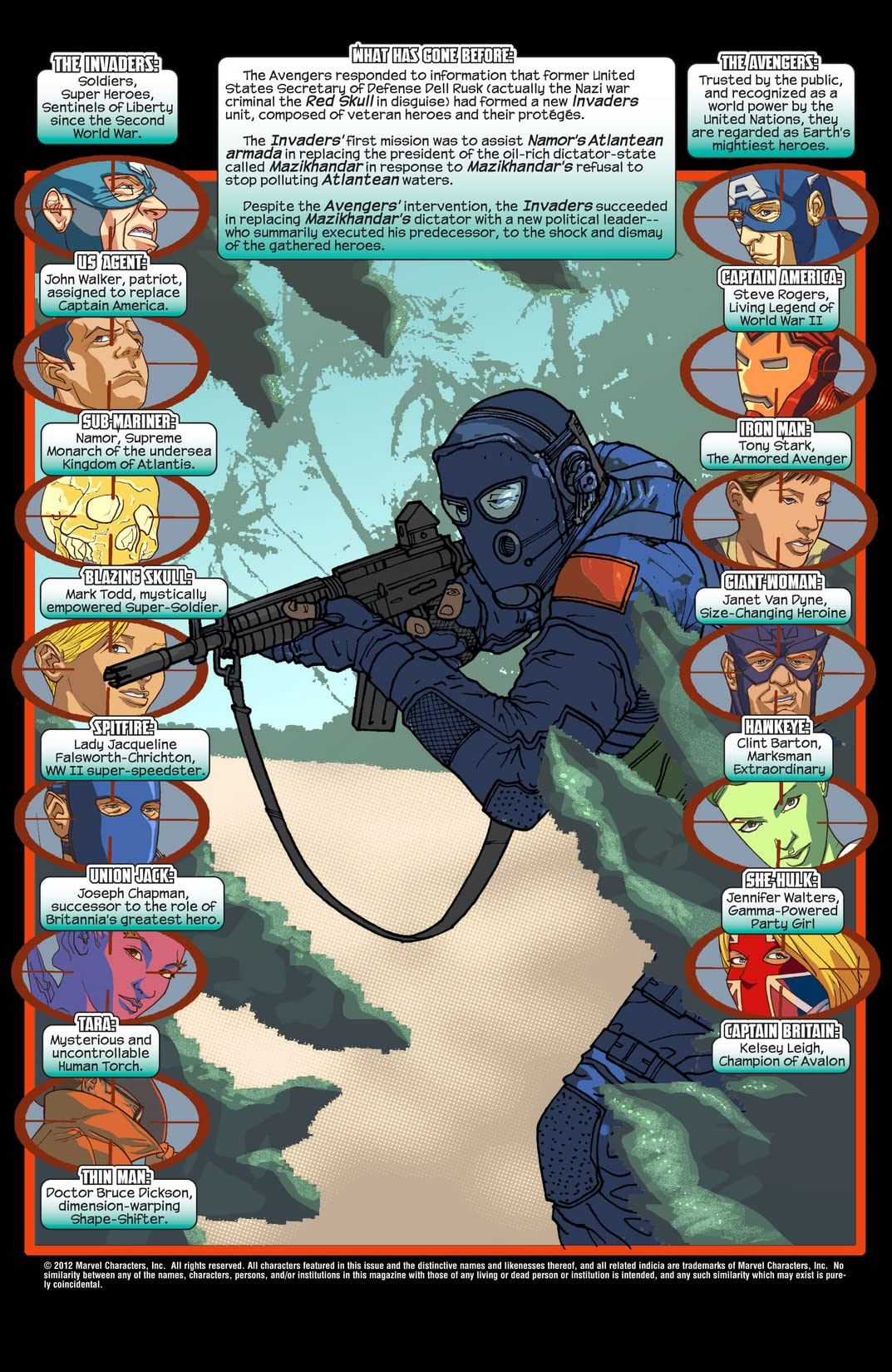 New Invaders (2004-2005) #0