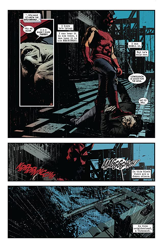 click for super-sized previews of Daredevil Noir #1