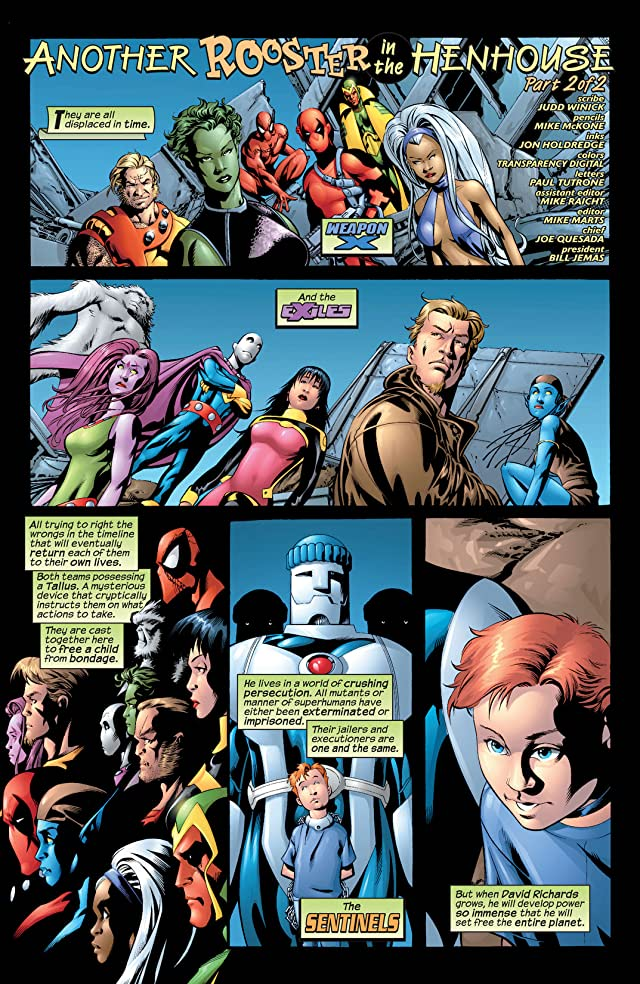 click for super-sized previews of Exiles (2001-2008) #13