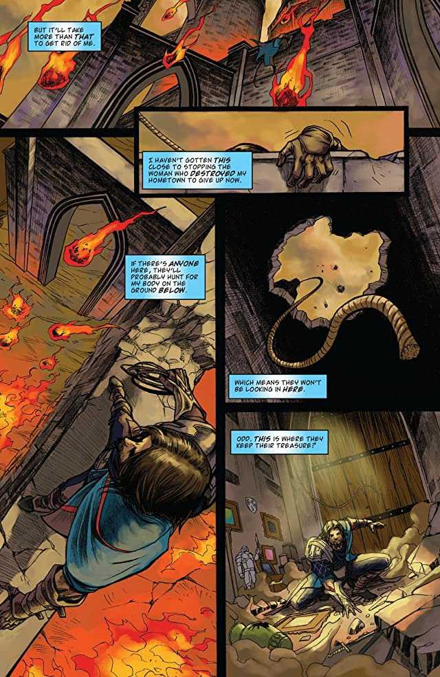 click for super-sized previews of Magic: The Gathering - The Spell Thief #1