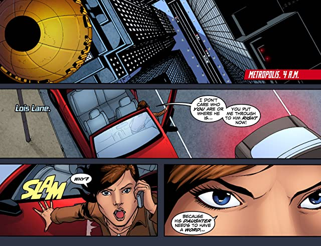 click for super-sized previews of Smallville: Season 11 #8