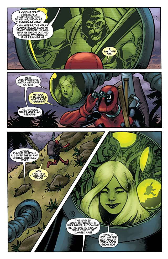 click for super-sized previews of Deadpool Team-Up #889
