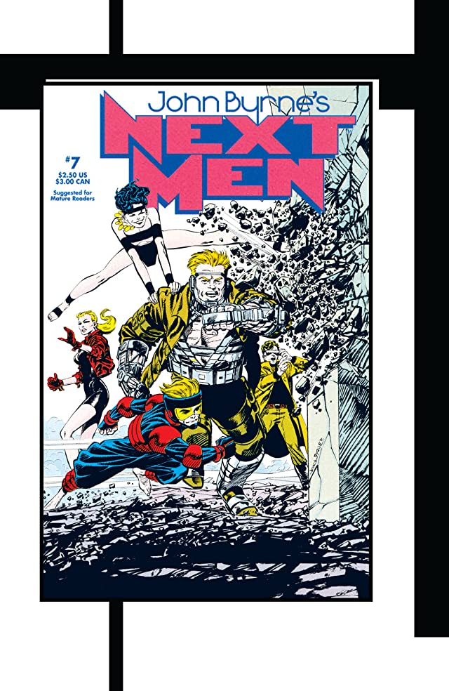 click for super-sized previews of John Byrne's Classic Next Men Vol. 2