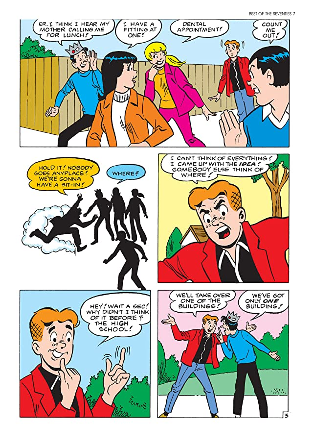 Archie Americana Series: Best of the Seventies