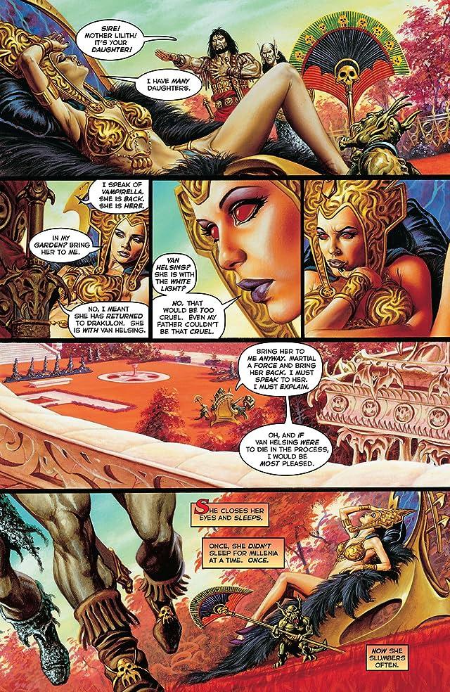 click for super-sized previews of Vampirella Masters Series Vol. 6: James Robinson