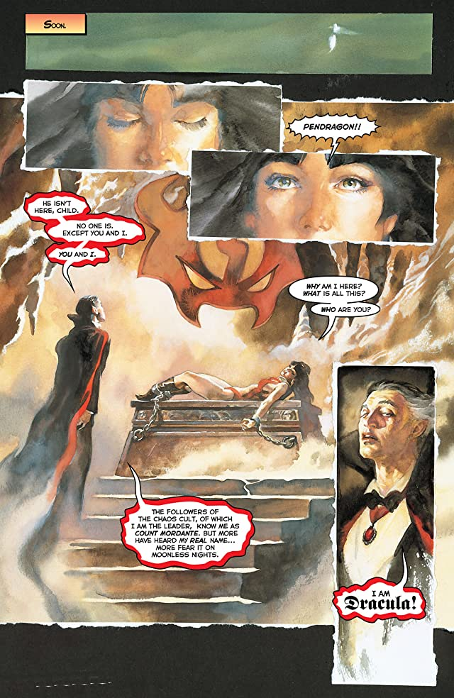 click for super-sized previews of Vampirella Masters Series Vol. 6: James Robinson
