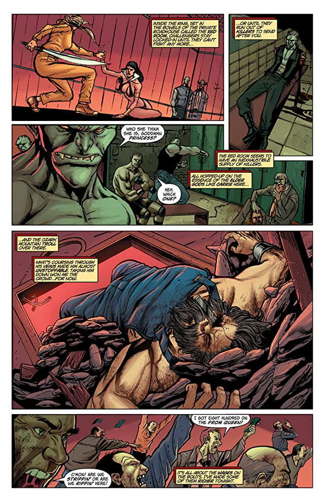 click for super-sized previews of Vampirella: Red Room #2