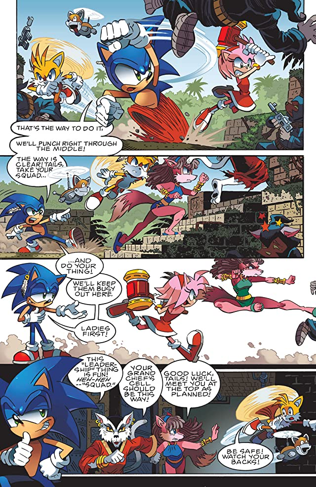 click for super-sized previews of Sonic the Hedgehog #238