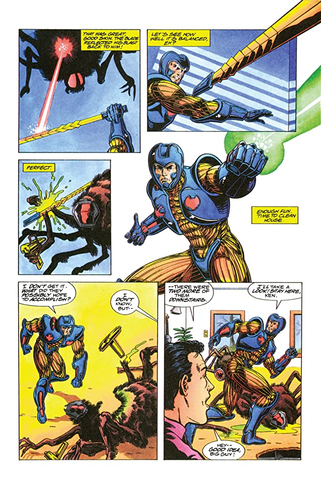 click for super-sized previews of X-O Manowar (1992-1996) #11