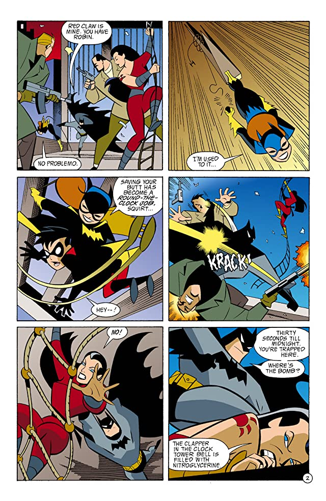 click for super-sized previews of Batman: Gotham Adventures #3