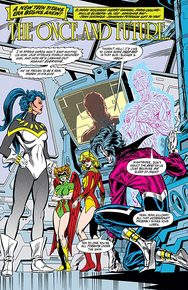 click for super-sized previews of The New Titans (1984-1996) #80