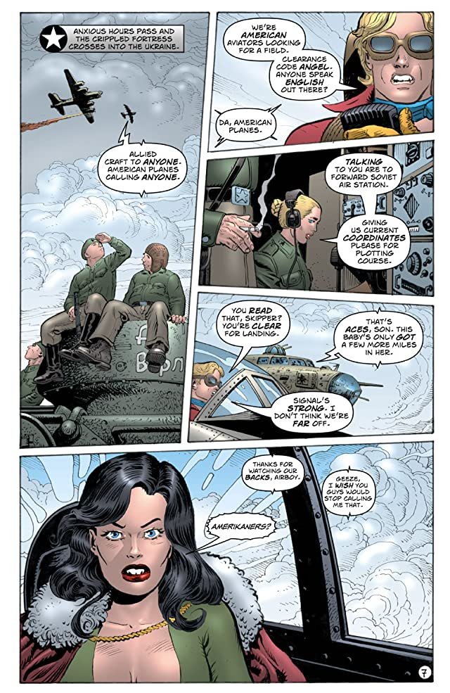 click for super-sized previews of Airboy 1942: Best of Enemies Vol. 1