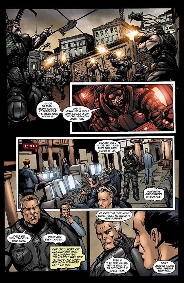 click for super-sized previews of Gears of War #24