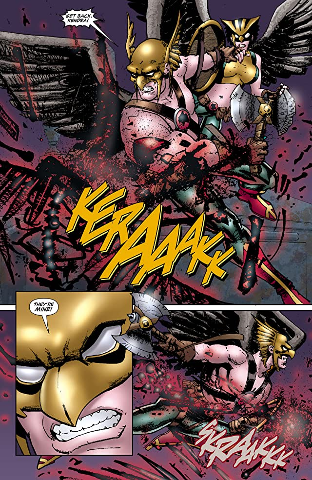 click for super-sized previews of Hawkgirl (2006-2007) #50