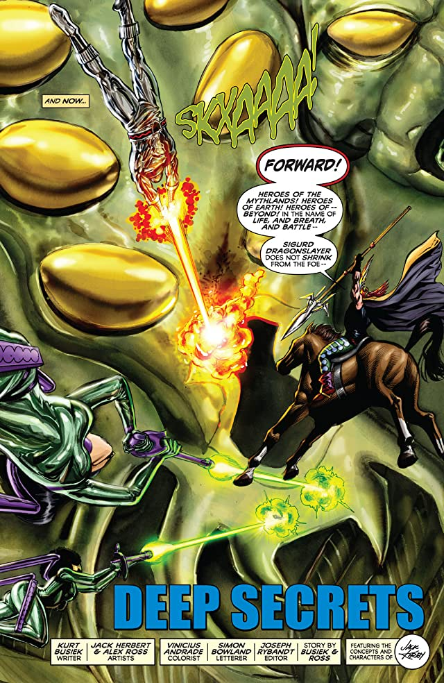 click for super-sized previews of Kirby: Genesis #8