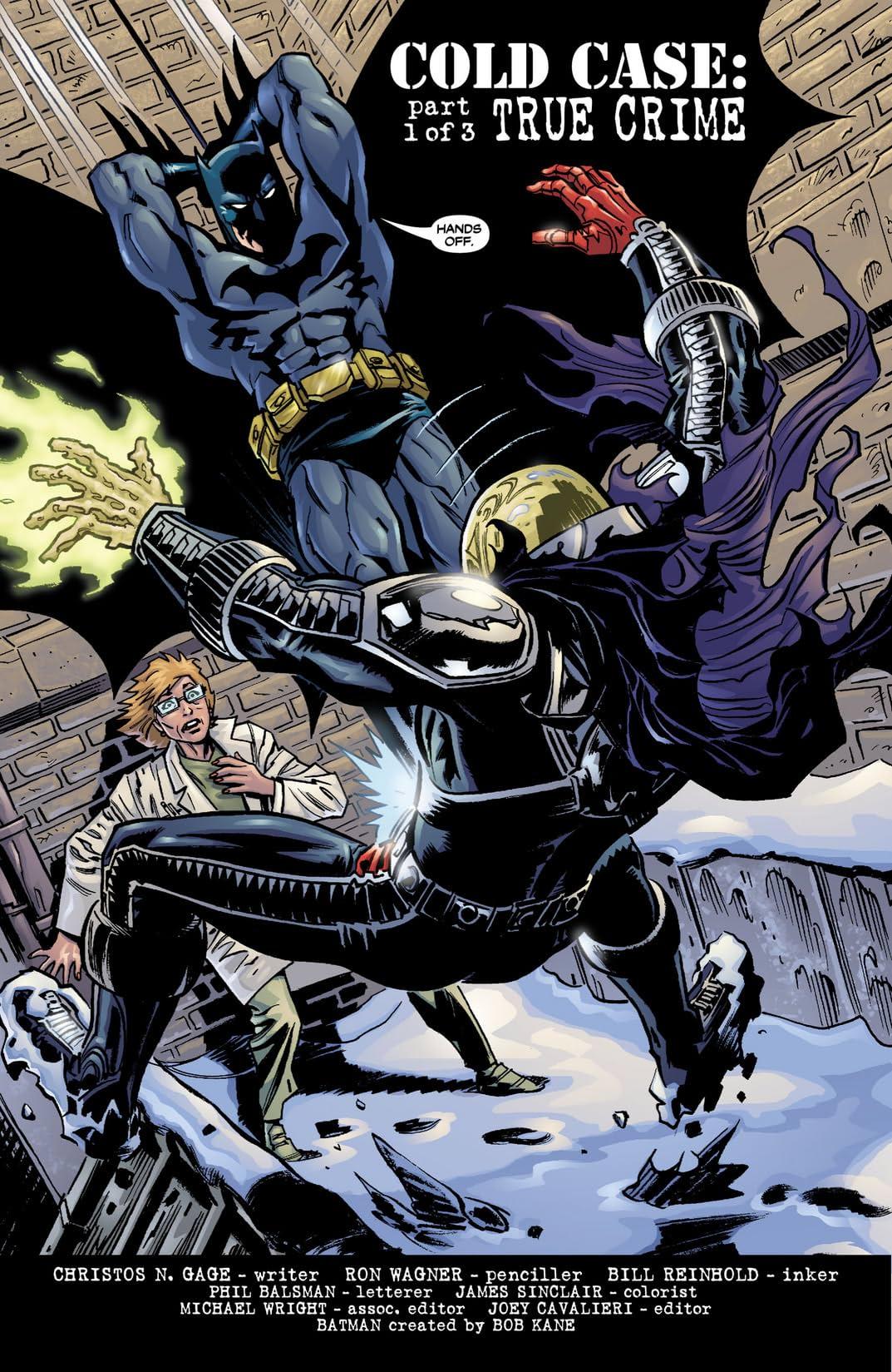 Batman: Legends of the Dark Knight #201