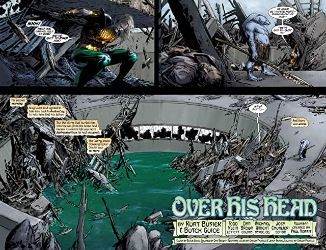 click for super-sized previews of Aquaman: Sword of Atlantis (2006-2007) #41