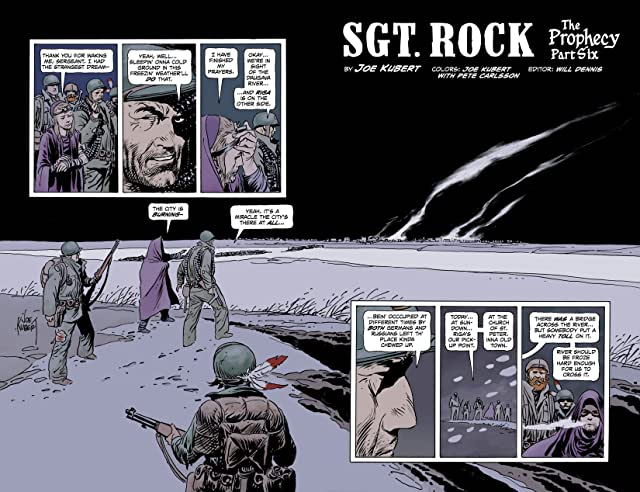 click for super-sized previews of Sgt. Rock: The Prophecy #6