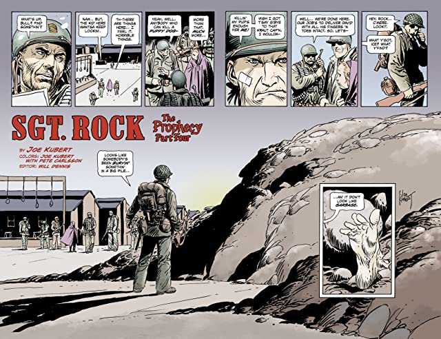click for super-sized previews of Sgt. Rock: The Prophecy #4