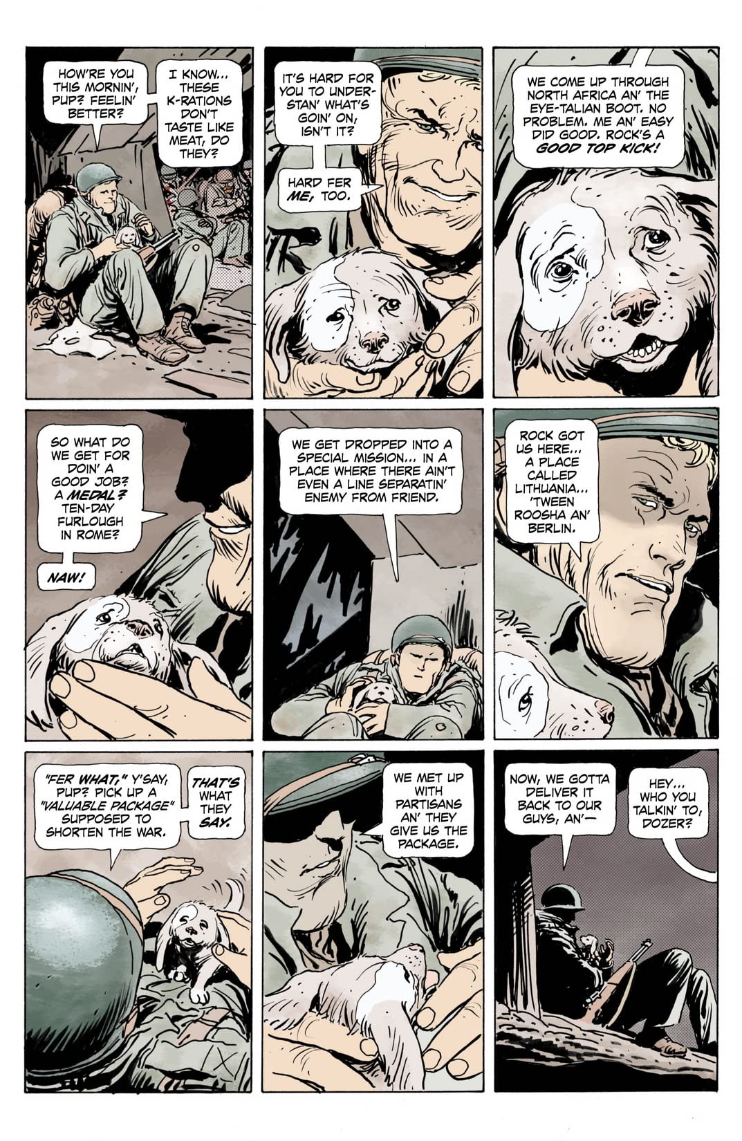 Sgt. Rock: The Prophecy #2 (of 6)