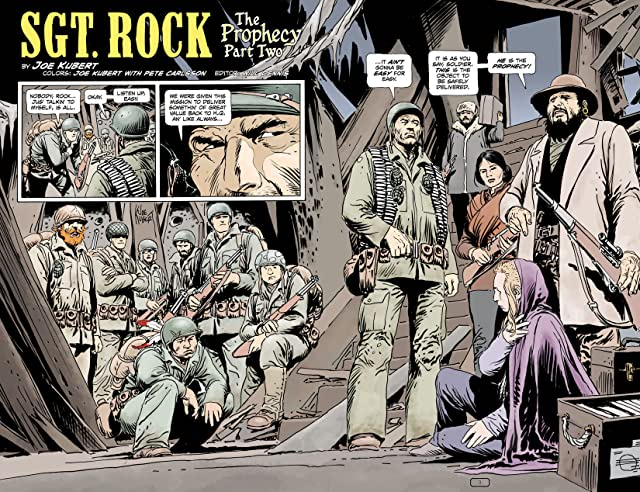click for super-sized previews of Sgt. Rock: The Prophecy #2