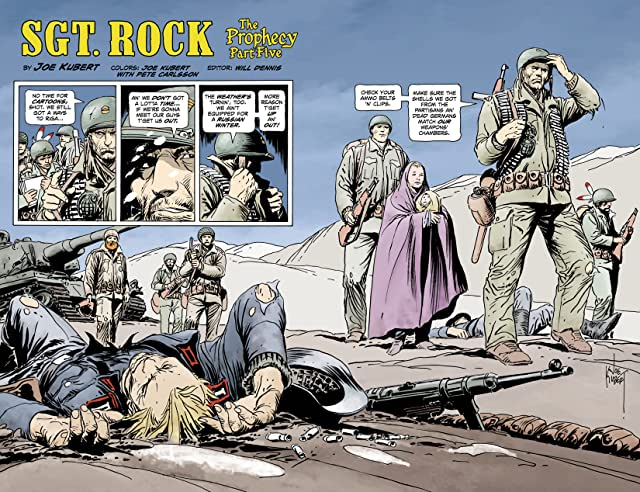 Sgt. Rock: The Prophecy #5 (of 6)