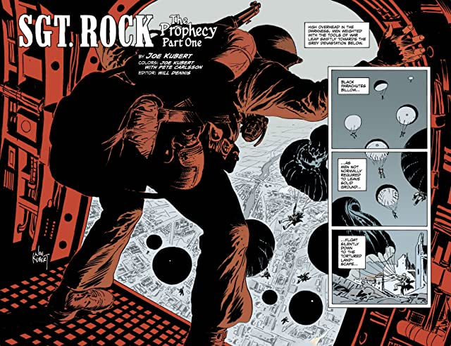 click for super-sized previews of Sgt. Rock: The Prophecy #1