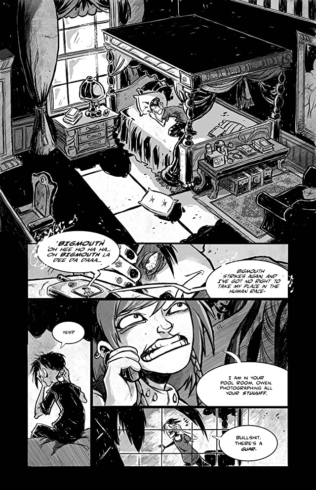 click for super-sized previews of ELDRITCH! #5
