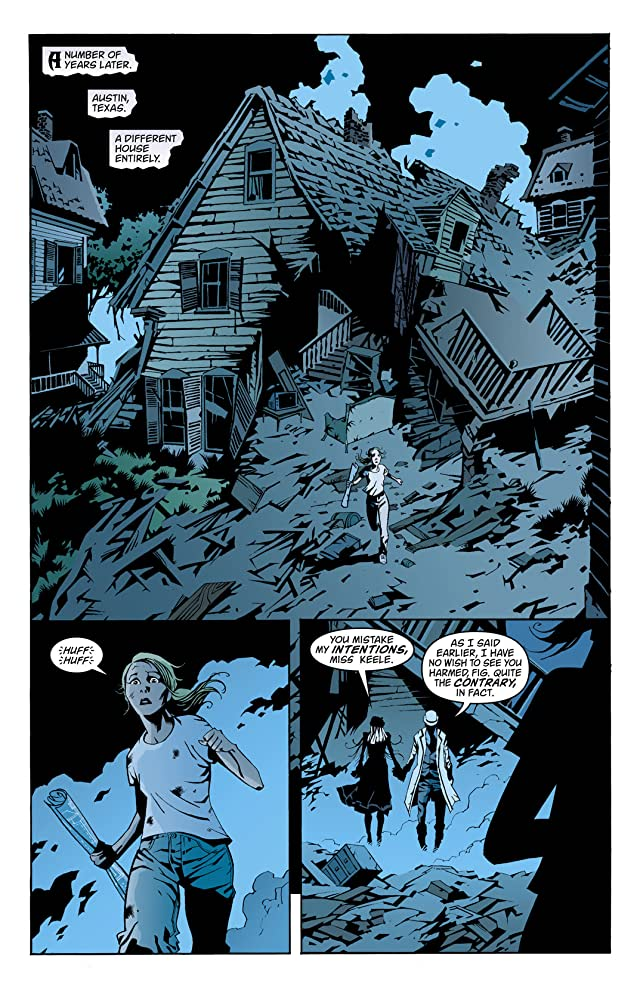 click for super-sized previews of House of Mystery (2008-2011) #1