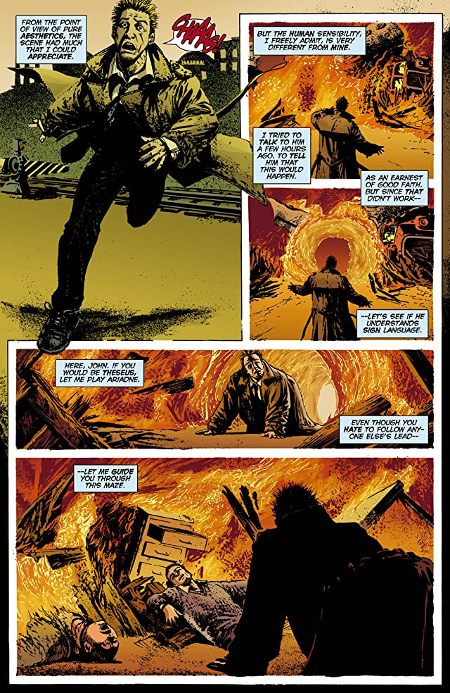 click for super-sized previews of Hellblazer #203