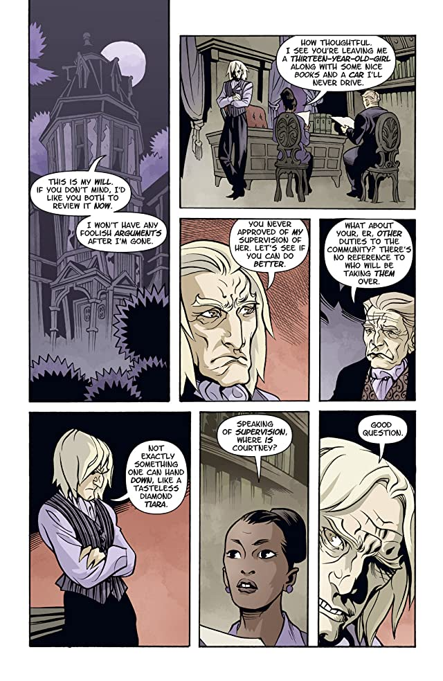 click for super-sized previews of Courtney Crumrin: Ongoing #3