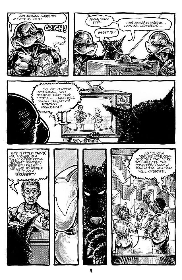 Teenage Mutant Ninja Turtles: Black & White Classics #2