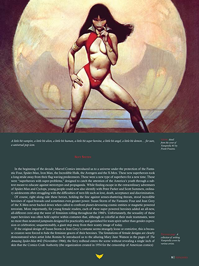 click for super-sized previews of The Art of Vampirella