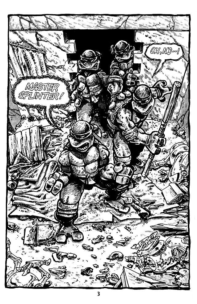 Teenage Mutant Ninja Turtles: Black & White Classics #3