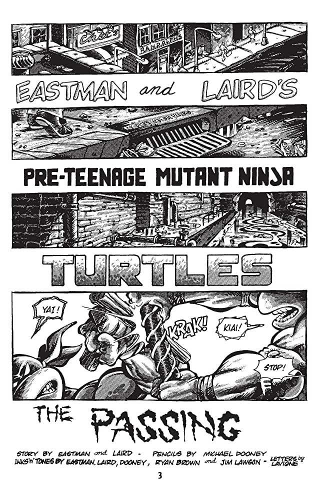 click for super-sized previews of Teenage Mutant Ninja Turtles: Black & White Classics #9