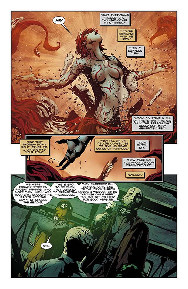 click for super-sized previews of I, Vampire (2011-2013) #10