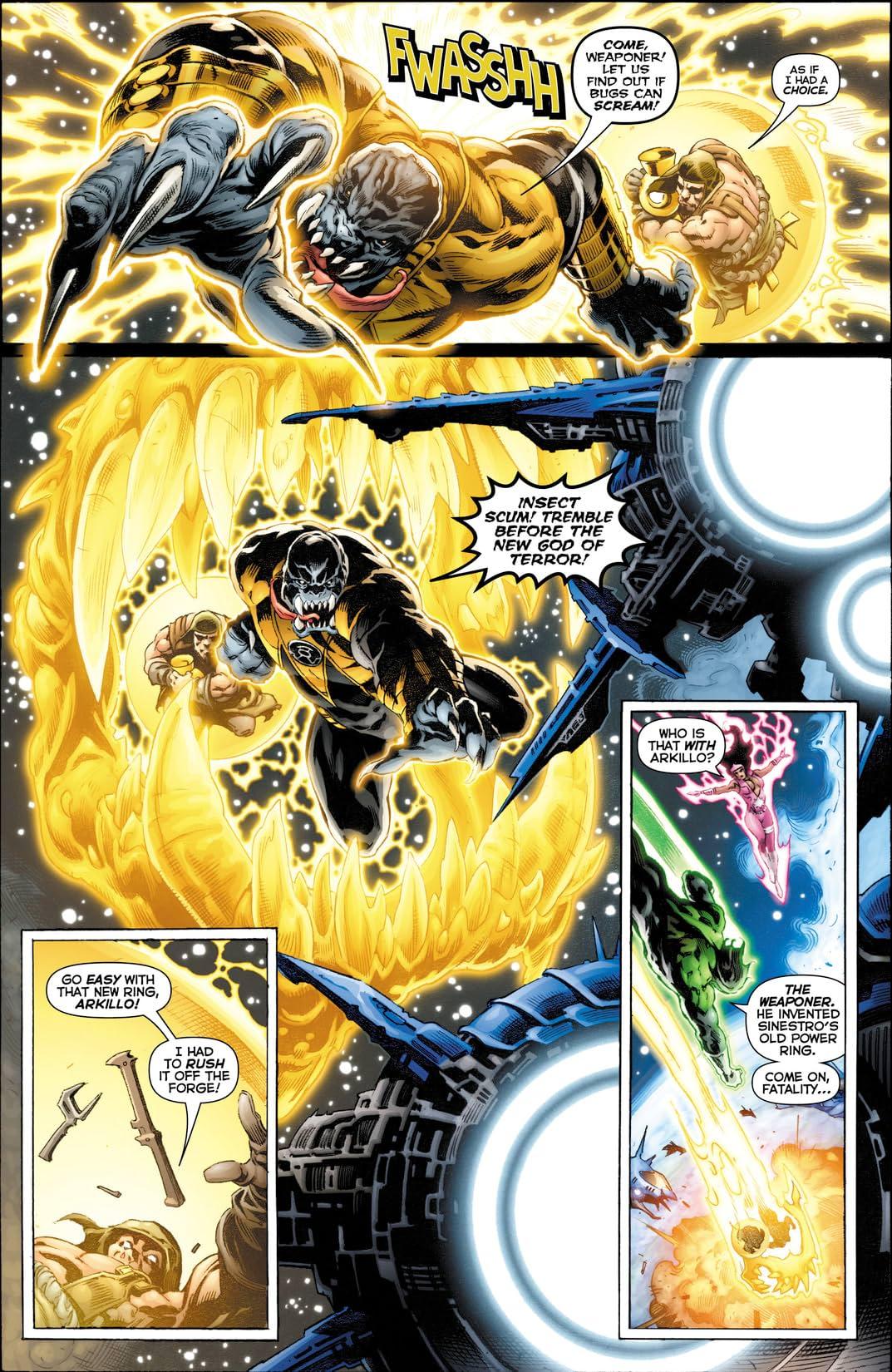 Green Lantern: New Guardians (2011-2015) #10