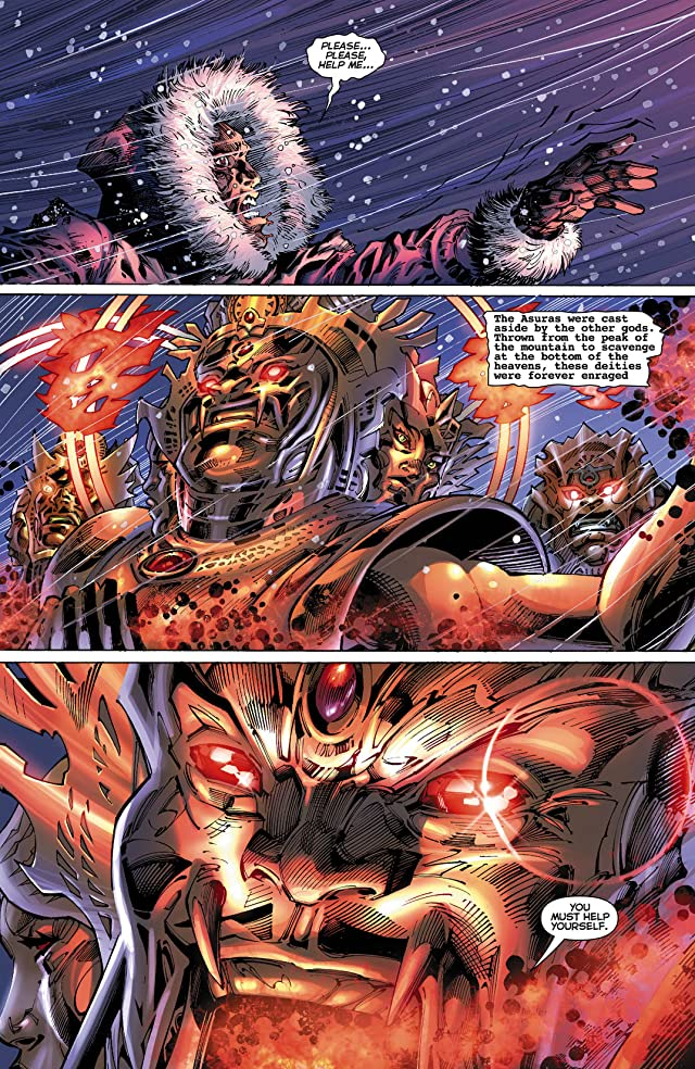 click for super-sized previews of Justice League (2011-) #10