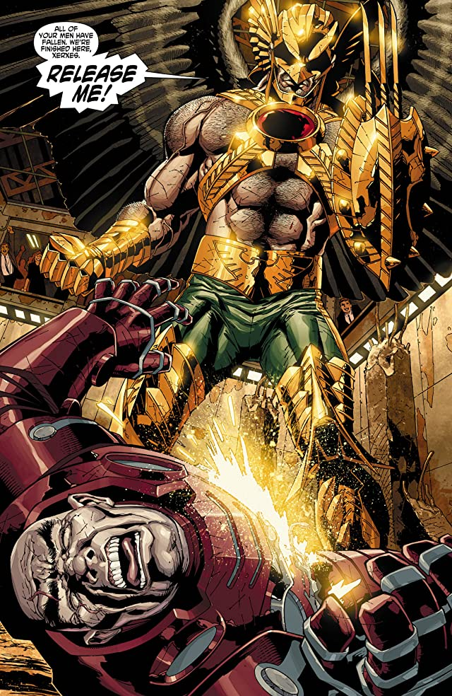 click for super-sized previews of The Savage Hawkman (2011-2013) #10