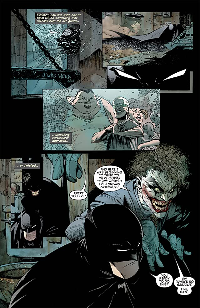 click for super-sized previews of Batman (2011-) #1