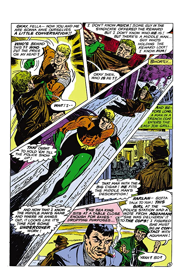 click for super-sized previews of Aquaman (1962-1978) #45