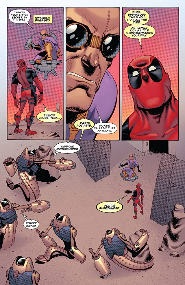 click for super-sized previews of Deadpool (2008-2012) #57