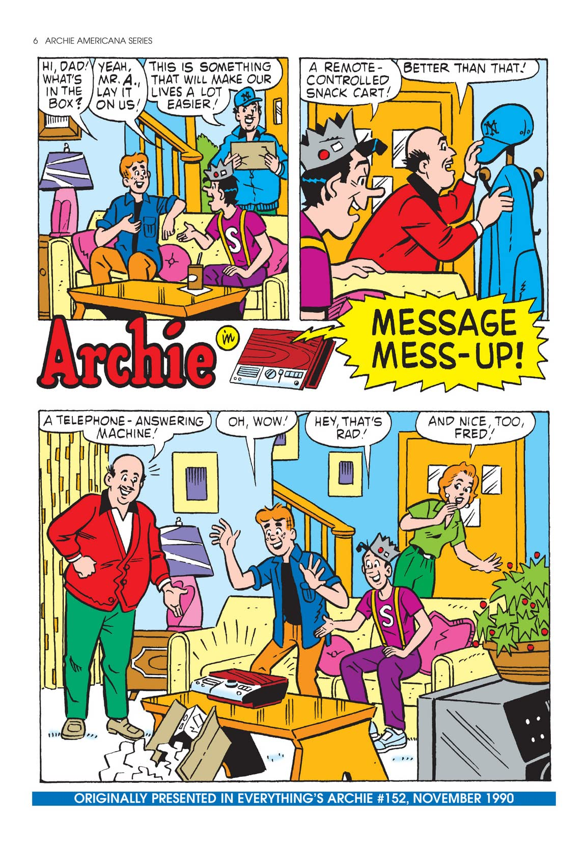 Archie Americana Series: Best of the Nineties